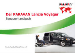 Paravan User's manual Lancia Voyager
