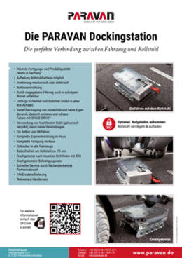 Product sheet Paravan Dockingstation