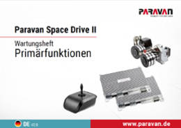 Paravan maintenance booklet Space Drive Primary functions