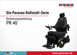 Paravan User's manual PR 40