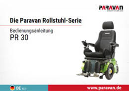 Paravan User's manual PR 30