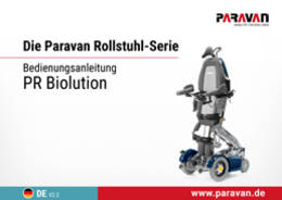 Paravan User's manual PR Biolution