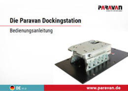 Paravan User's manual  dockingstation