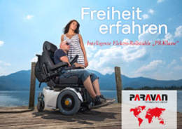 Paravan Wheelchair brochure