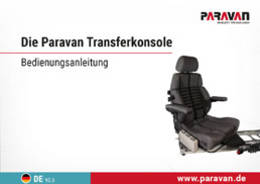 Paravan User's manual power seat base