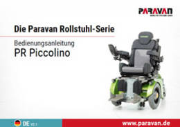 Paravan User's manual PR Piccolino