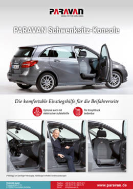 Product sheet Paravan swivel seat